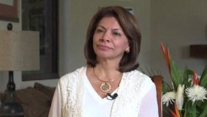 Laura Chinchilla retira su candidatura para presidir el BID