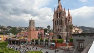 San Miguel de Allende busca reactivar el turismo