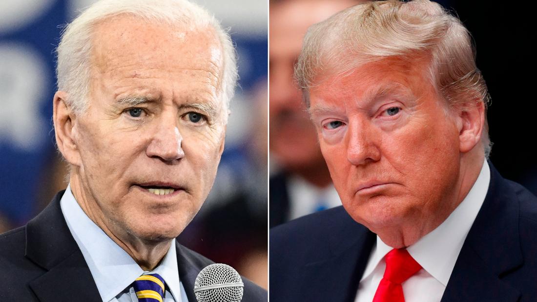 Biden y Trump están casi empatados en intención de voto en 2 estados clave | Video | CNN