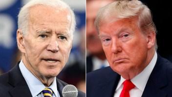 Biden y Trump, en empate virtual en 2 estados clave