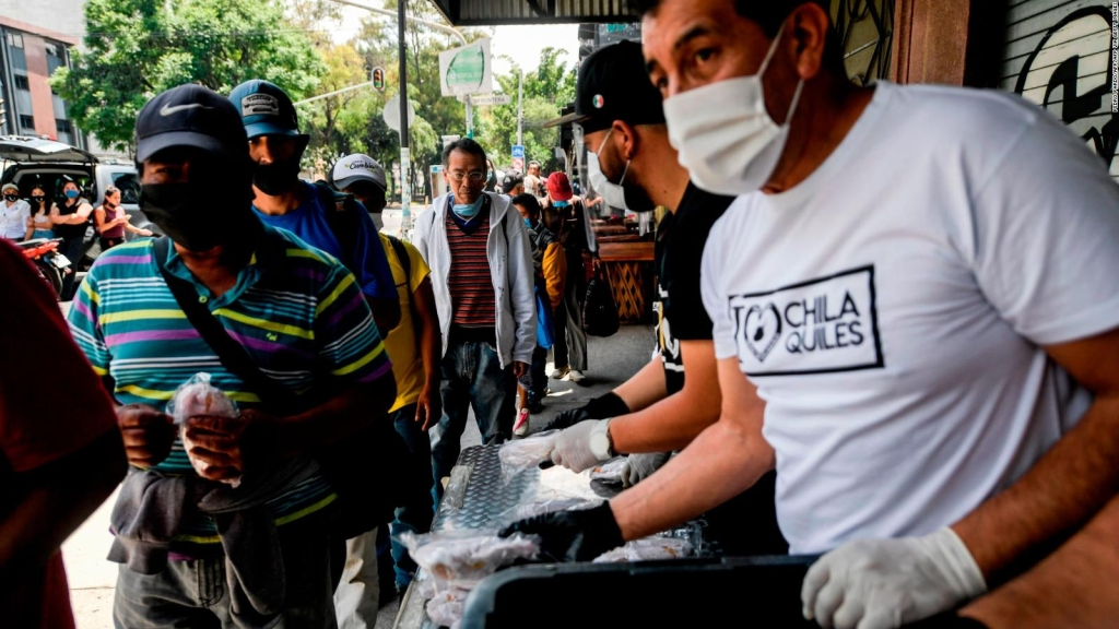 México: buscan dar dinero a los afectados por la pandemia