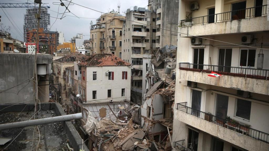 Equipo chileno busca sobreviviente en Beirut