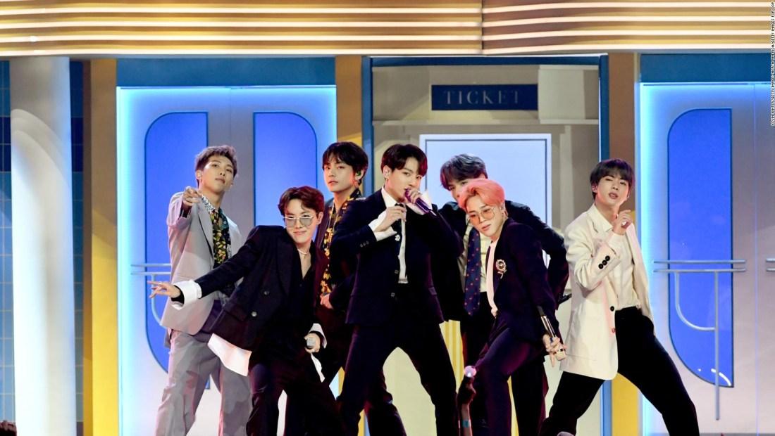 Las 5 canciones más exitosas de la banda de K-Pop BTS