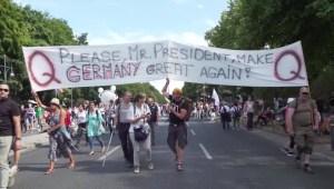Qanon, la teoría de la conspiración se extiende en Alemania