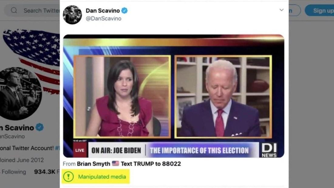 Dan Scavino comparte entrevista manipulada de Joe Biden