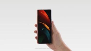 Así se ve el nuevo teléfono plegable de Samsung