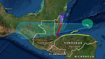 Belice está en alerta por la tormenta tropical Nana