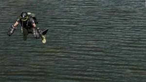 """Avistan a hombre volando cerca de aviones con un """"jetpack"""""""