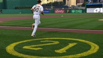 Los Pirates vestirán el número 21 de Clemente