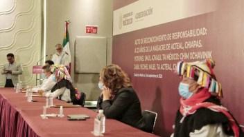 México: disculpas por matanza de indígenas hace 23 años