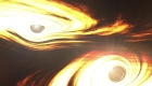 Fusión de agujeros negros, noticia de hace 7.000 millones de años