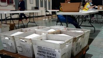 Demócratas lideran voto por correo en 2 estados de EE.UU.