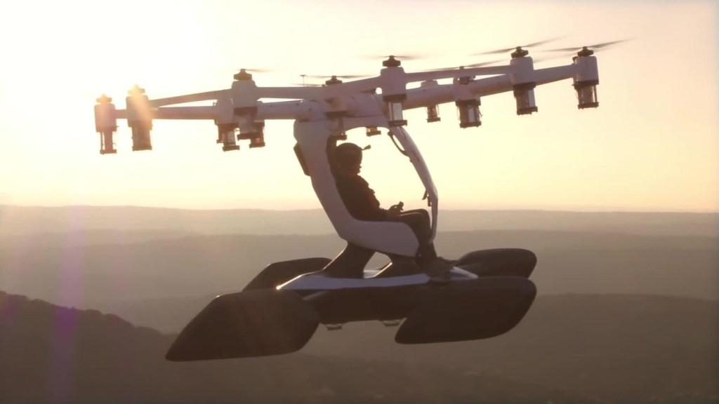 Hexa, el vehículo aéreo que podrás pilotear tú mismo