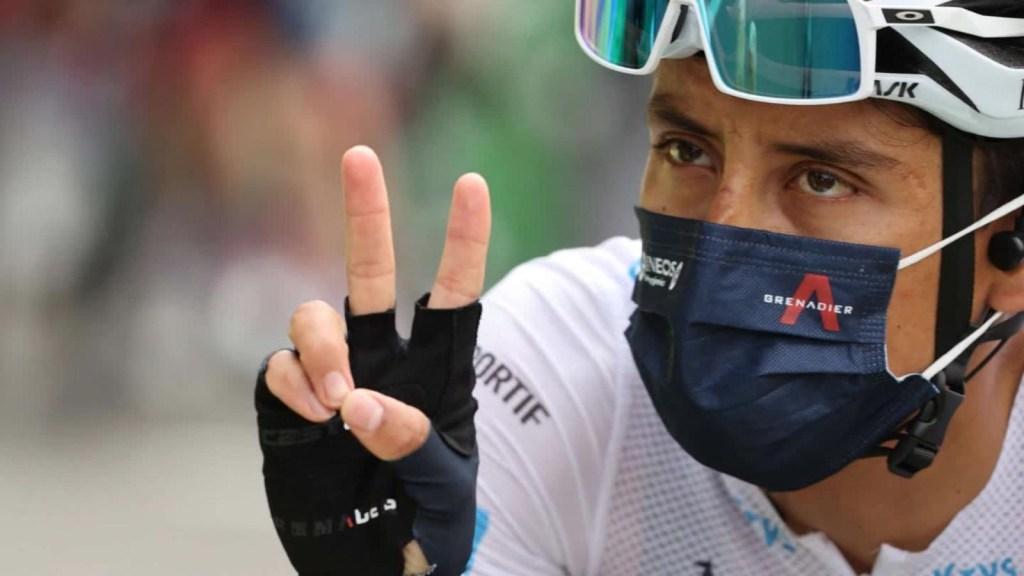 Egan Bernal, al acecho en el Tour de Francia