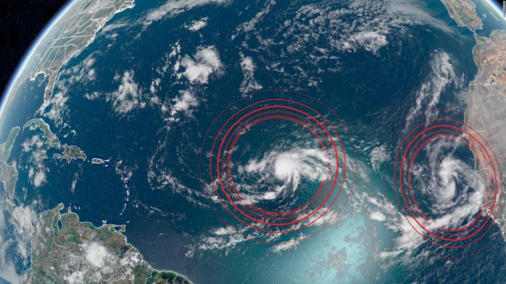 Nueva tormenta tropical en el Atlántico