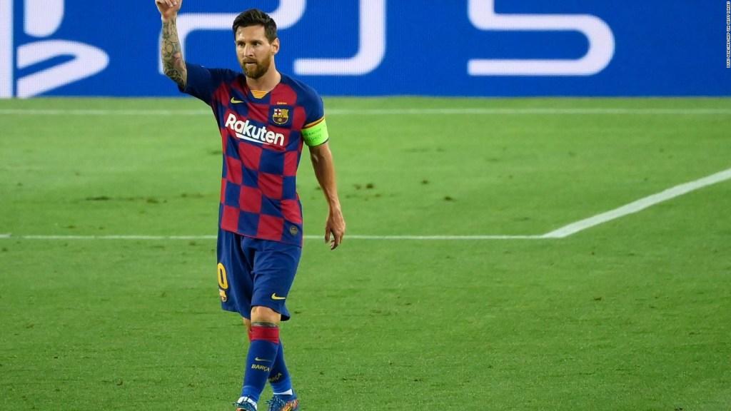 Messi vuelve a entrenar con el Barcelona