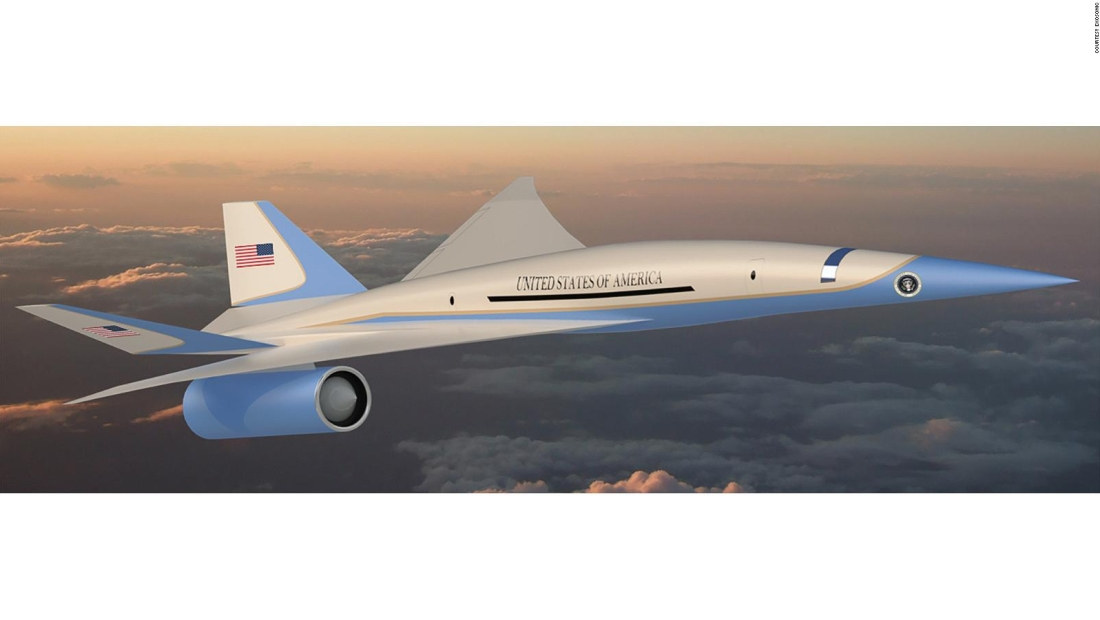 Desarrollan el Air Force One supersónico
