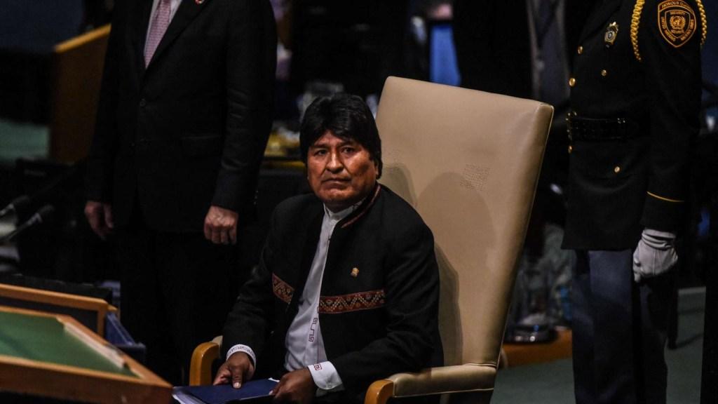 Bolivia denuncia a Evo Morales por delitos de lesa humanidad