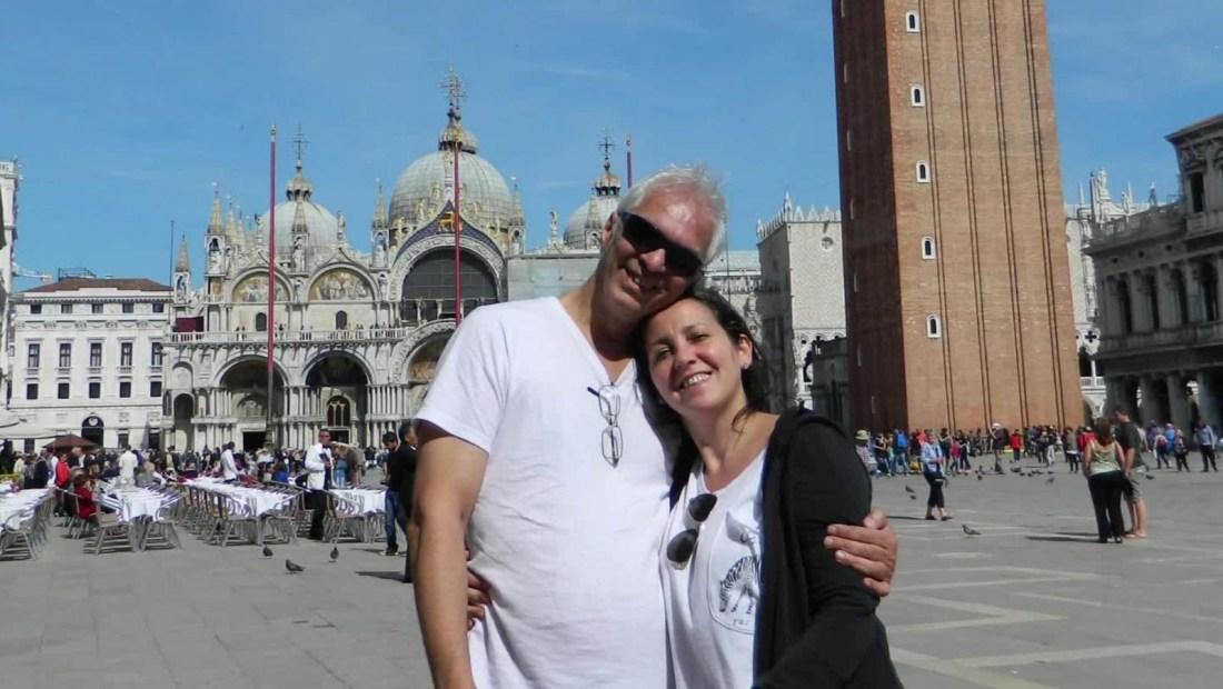 Un tumor cerebral no fue obstáculo para su casamiento