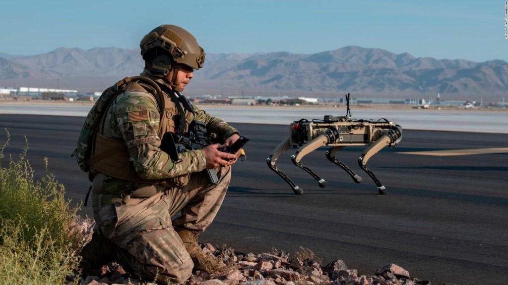 Perros robot, listos para la guerra