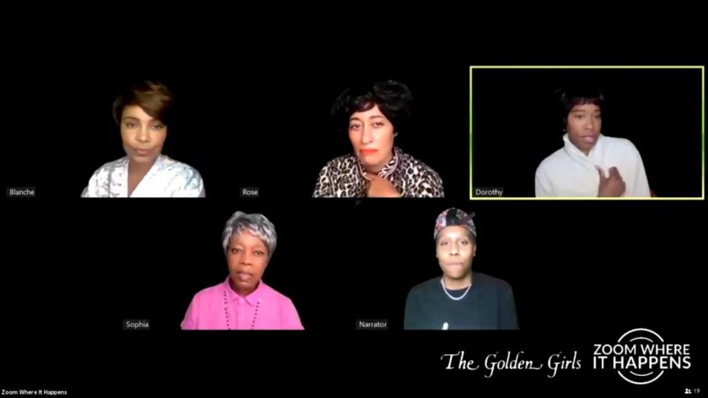 """Recrean """"The Golden Girls"""" con elenco de mujeres negras"""