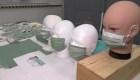 Mascarilla capaz de detectar la fiebre