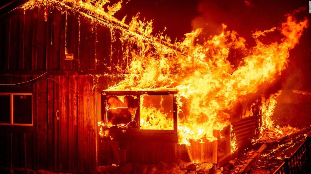 El oeste de EE.UU., devastado por incendios forestales