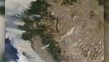 Humo cubre casi toda la costa oeste de EE.UU.