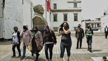 México dialoga con feministas tras una semana de protesta