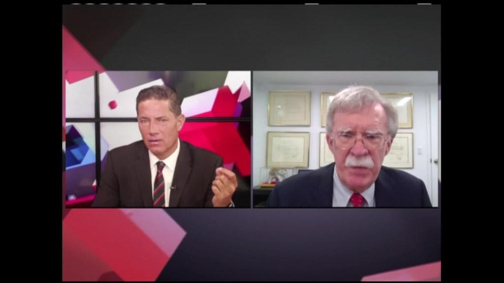 Bolton: Trump ocultó la verdad sobre la pandemia