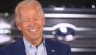 Biden se ríe del apodo de 'Slow Joe' que Trump le da