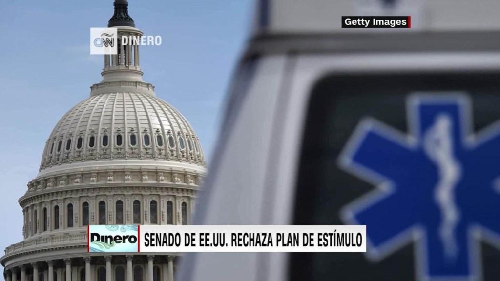 Senado echa atrás ley para ayudar a la economía de EE.UU.