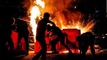 No cede la tensión en Bogotá tras segunda noche violenta