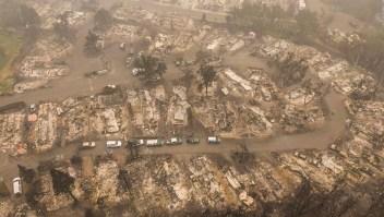 Muerte y destrucción por causa de los incendios en EE.UU.