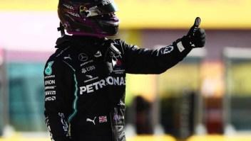 Hamilton acapara todas las pole position en la F1