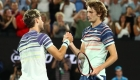 Dominic Thiem and Alexander Zverev, friends and rivals