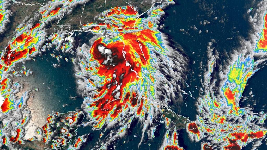 La tormenta tropical Sally, amenaza para sur de EE.UU.