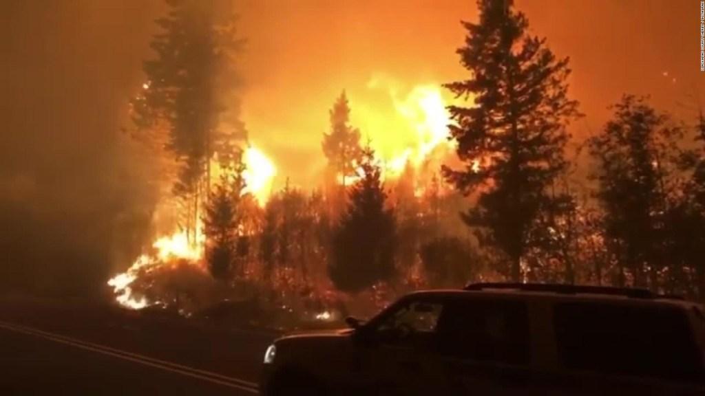 Difunden rumores falsos sobre incendios en EE.UU.