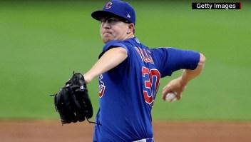 MLB: Alec Mills se luce con juego sin hits ni carreras