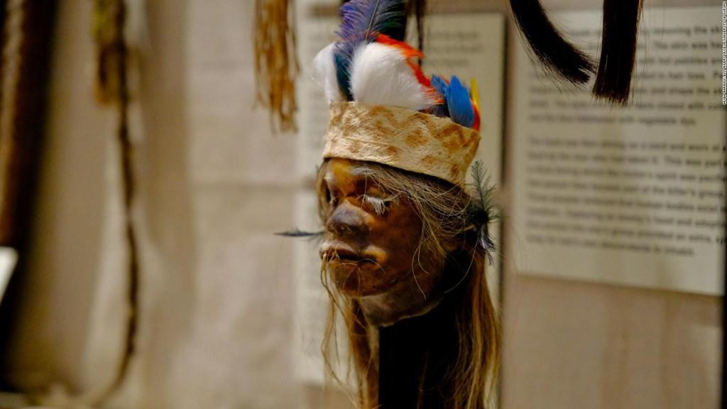Museo retira restos humanos de exposición