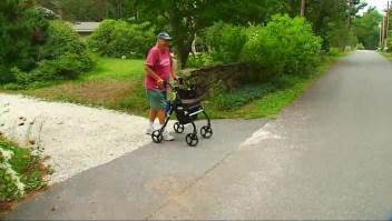 Hombre de 88 años camina 40.000 kilómetros