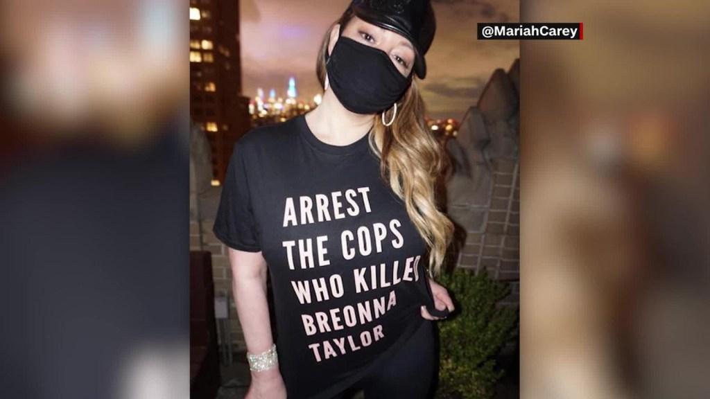Mariah Carey reclama por la muerte de Breonna Taylor