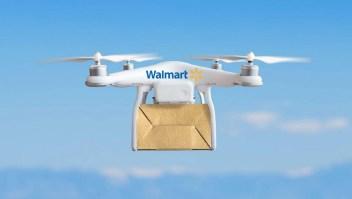 Walmart usará drones para entregar sus pedidos