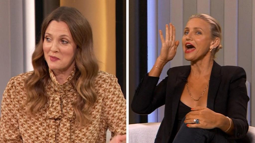 Drew Barrymore lanza su programa con entrevista a holograma