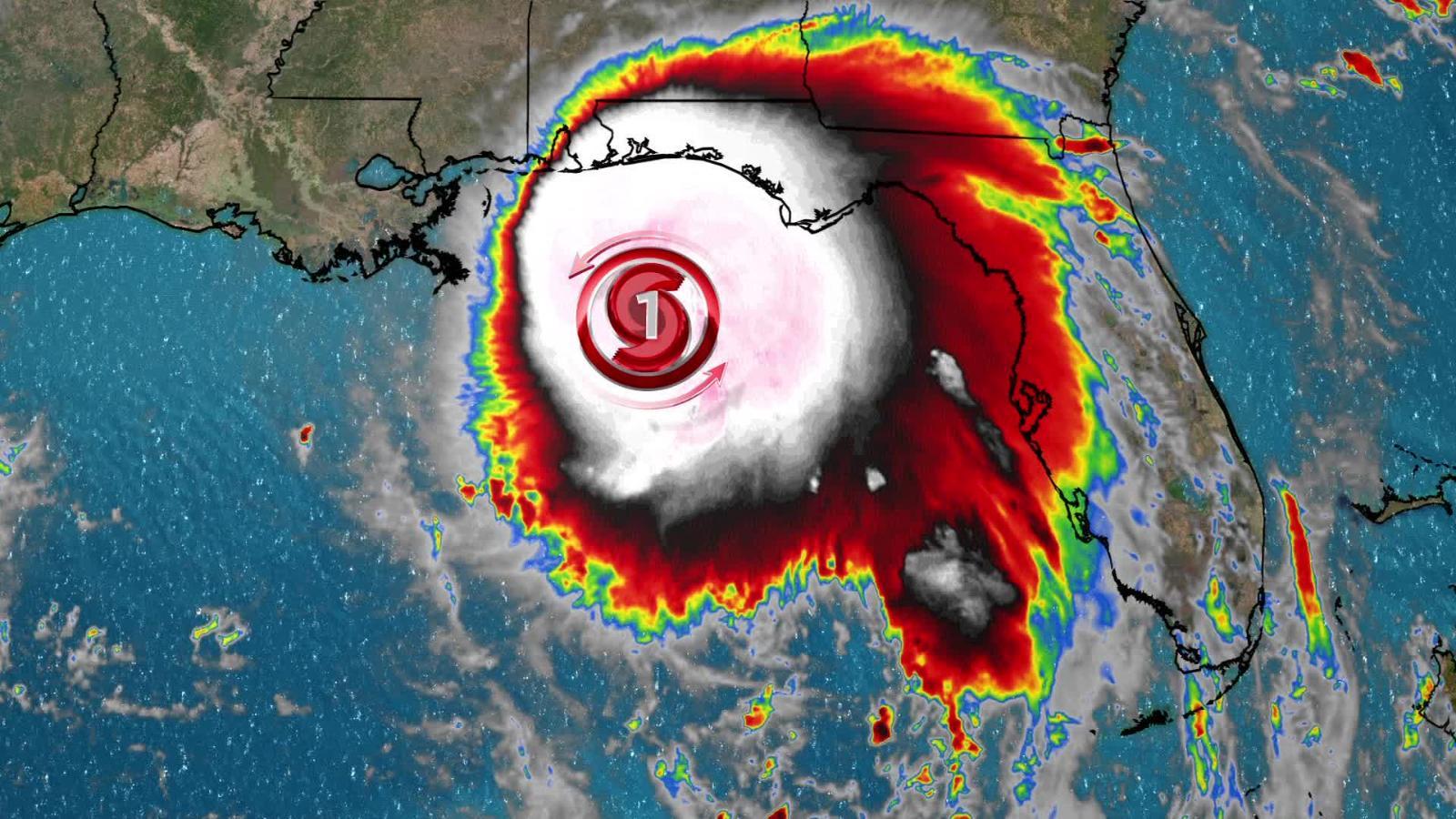 El huracán Sally no solo se intensifica, también disminuiría peligrosamente  su velocidad | Video | CNN