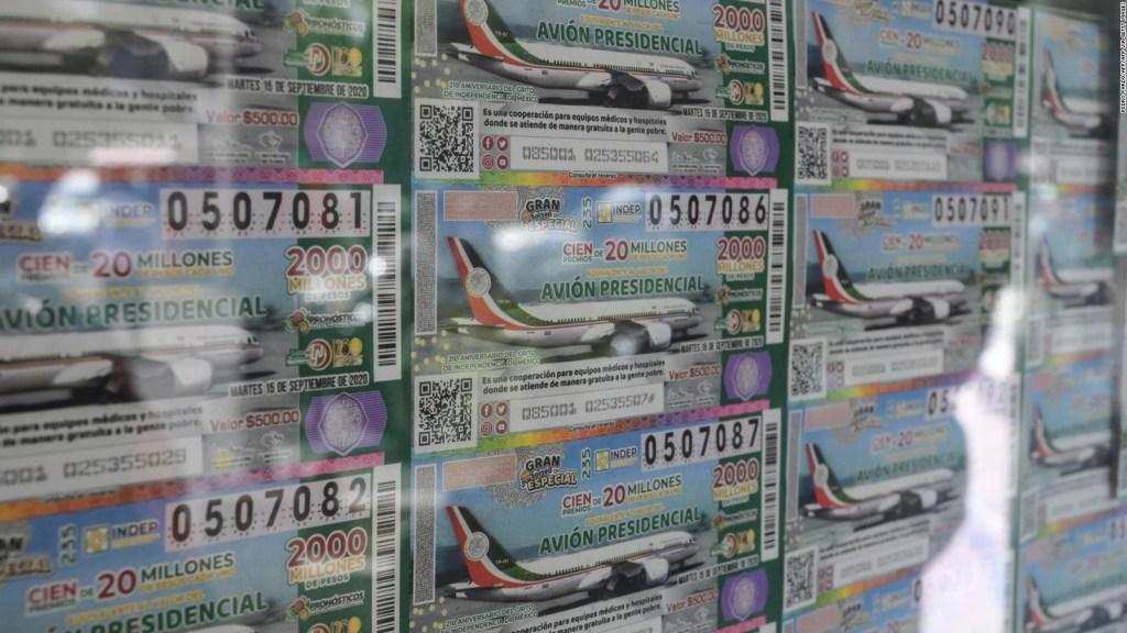 Rifa del avión: ¿y si el boleto ganador no se vendió?