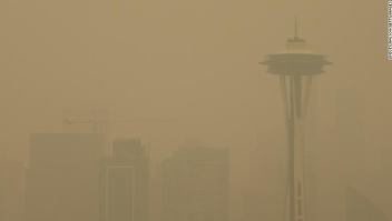 humo Seattle incendios forestales
