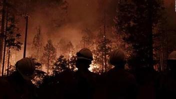 """Incendios forestales EE.UU.: """"Parece una zona de guerra"""""""