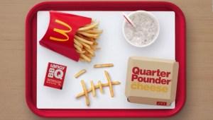Travis Scott provoca escasez de ingredientes en McDonald's