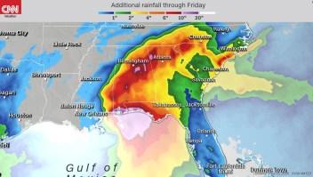 Sally afecta varios estados en el Golfo de México